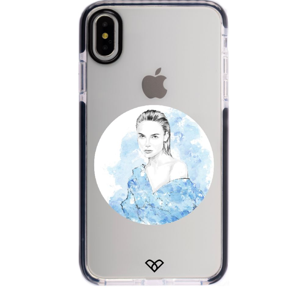 Aquarius by Will Ev Impact Case And Cover For iPhone X
