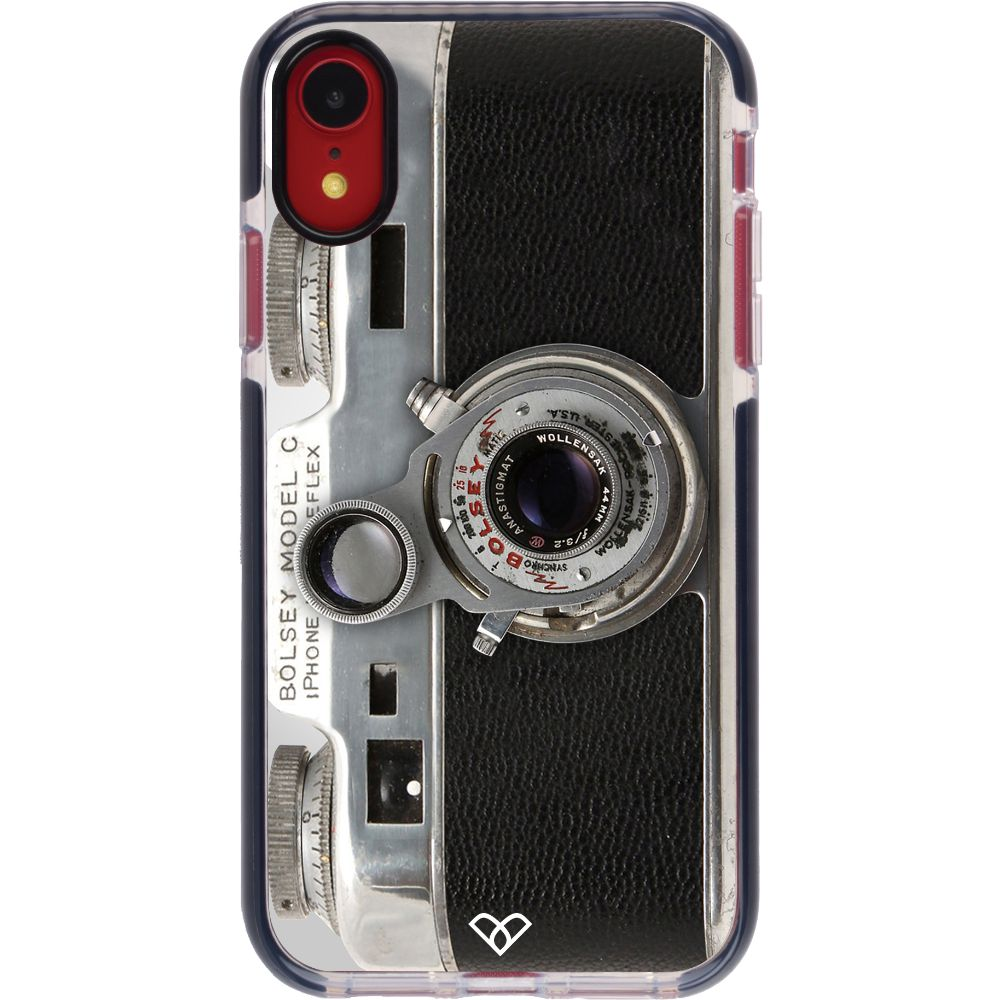 Bolsey Model C Vintage Camera Impact Case And Cover For iPhone XR