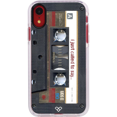 Maxell Vintage Cassette Impact Case And Cover For iPhone XR