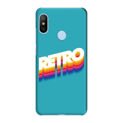 Back To The Retro Slim Case And Cover For Redmi 6 Pro