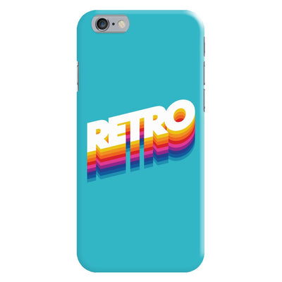 Back To The Retro Slim Case And Cover For iPhone 6