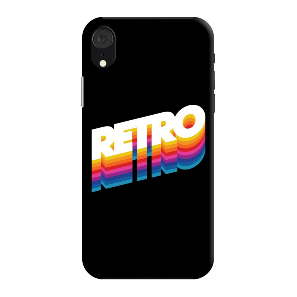 Back To The Retro Slim Case And Cover For iPhone XR