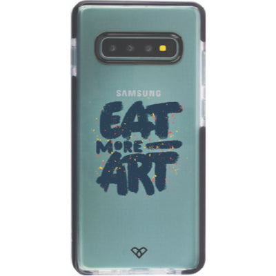 Eat More Art Impact Case And Cover For Galaxy S10 Plus