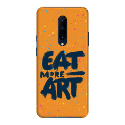 Eat More Art Slim Case And Cover For OnePlus 7 Pro
