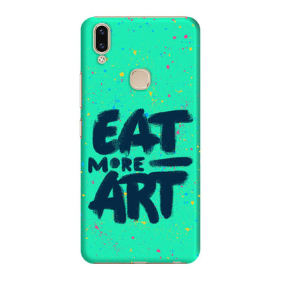 Eat More Art Slim Case And Cover For Vivo V9