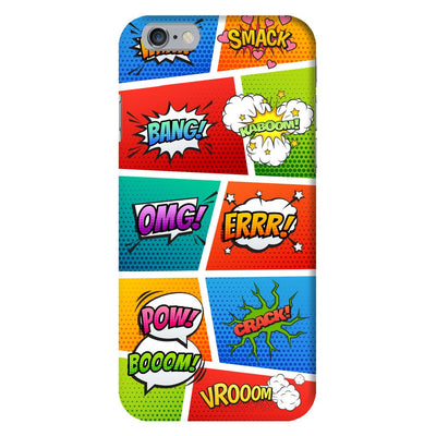 Comic Splash Slim Case And Cover For iPhone 6