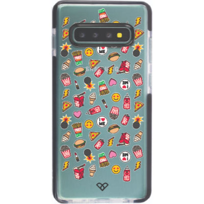 I Love Food Impact Case And Cover For Galaxy S10 Plus