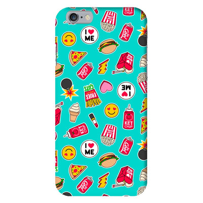 I Love Food Slim Case And Cover For iPhone 6