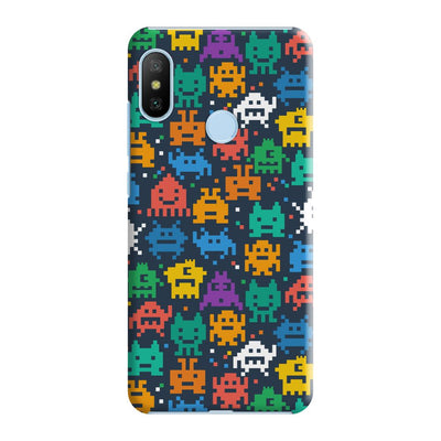 Pixel Monsters Slim Case And Cover For Redmi 6 Pro