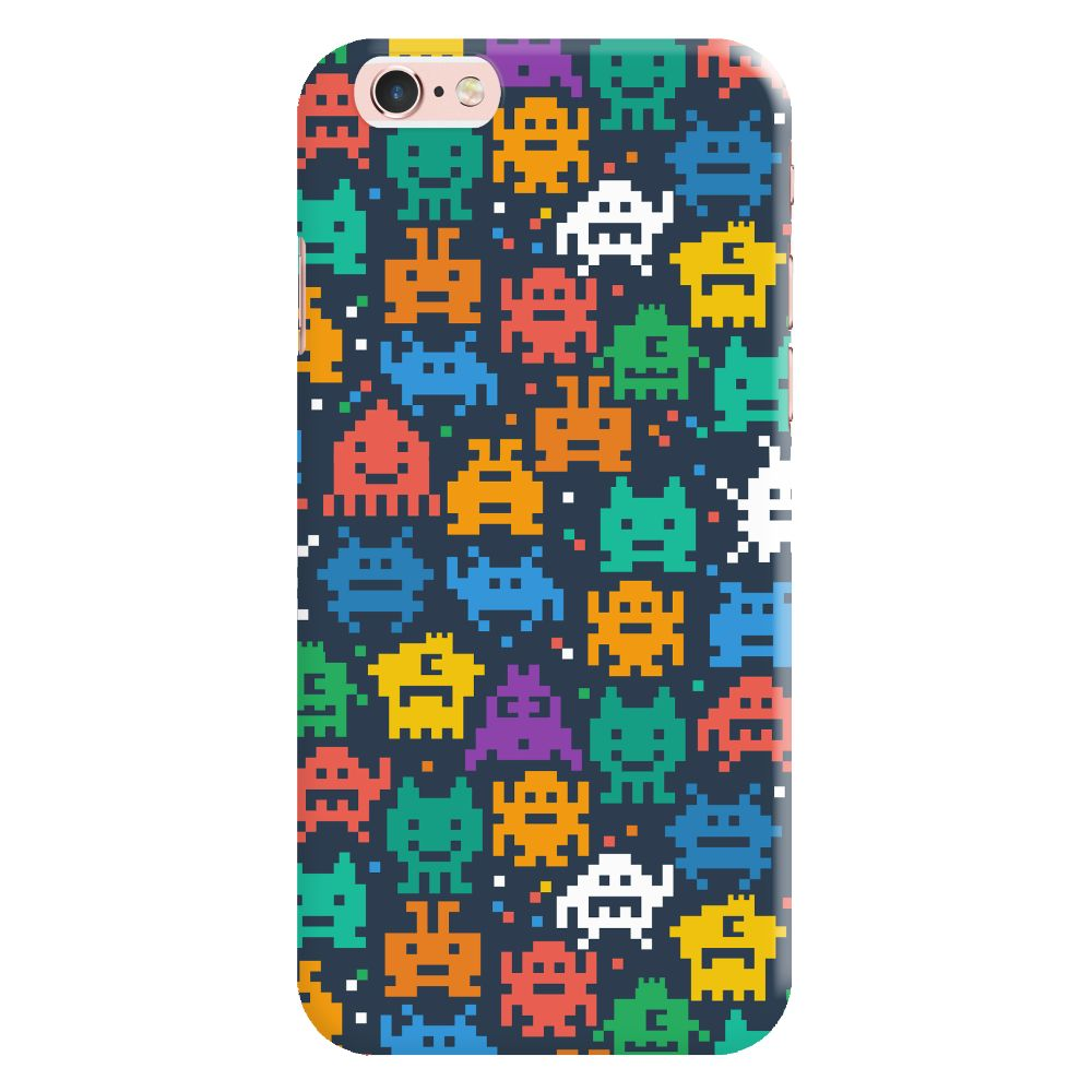 Pixel Monsters Slim Case And Cover For iPhone 6S