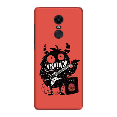 Rock Monster Slim Case And Cover For Redmi Note 5