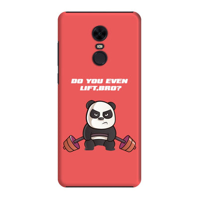 Strong Panda Slim Case And Cover For Redmi Note 5