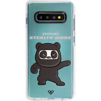 Stealthy Panda Impact Case And Cover For Galaxy S10 Plus