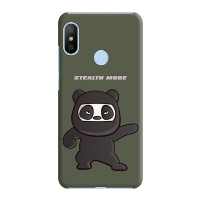 Stealthy Panda Slim Case And Cover For Redmi 6 Pro