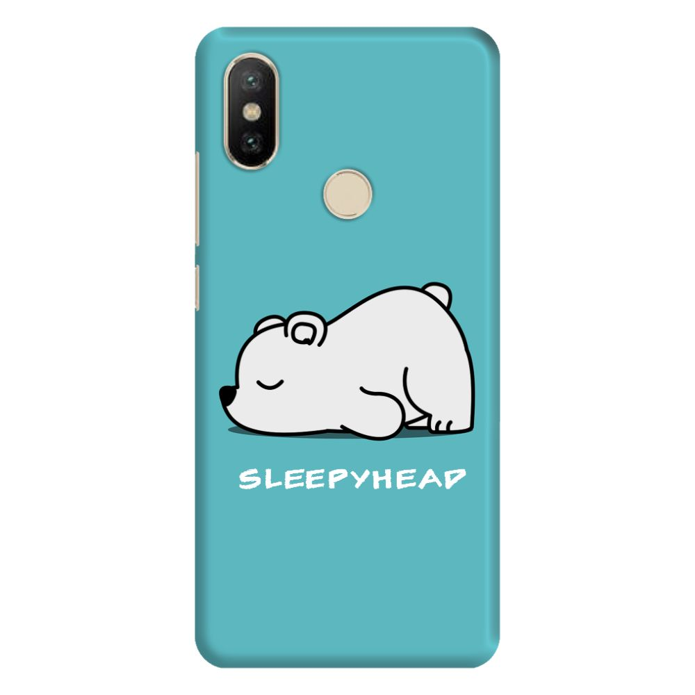 Sleepy Panda Slim Case And Cover For Mi A2
