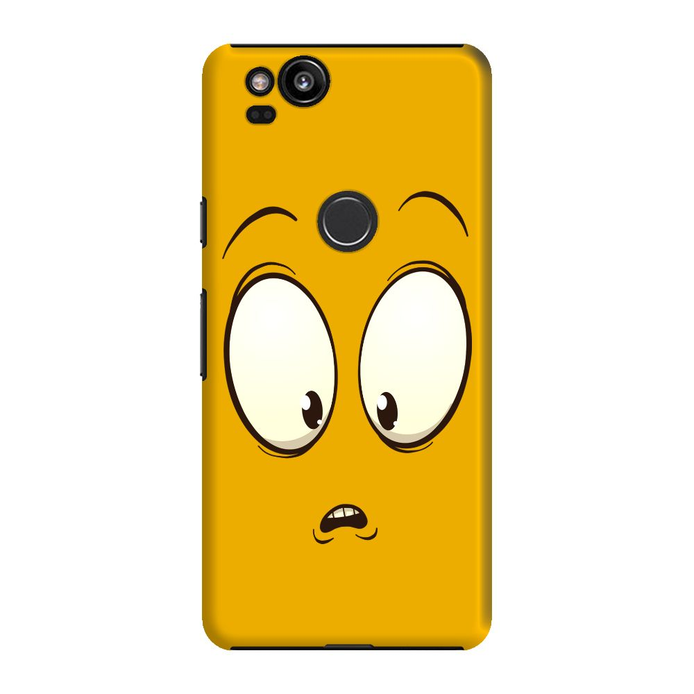 Confused Emoji Slim Case And Cover For Pixel 2