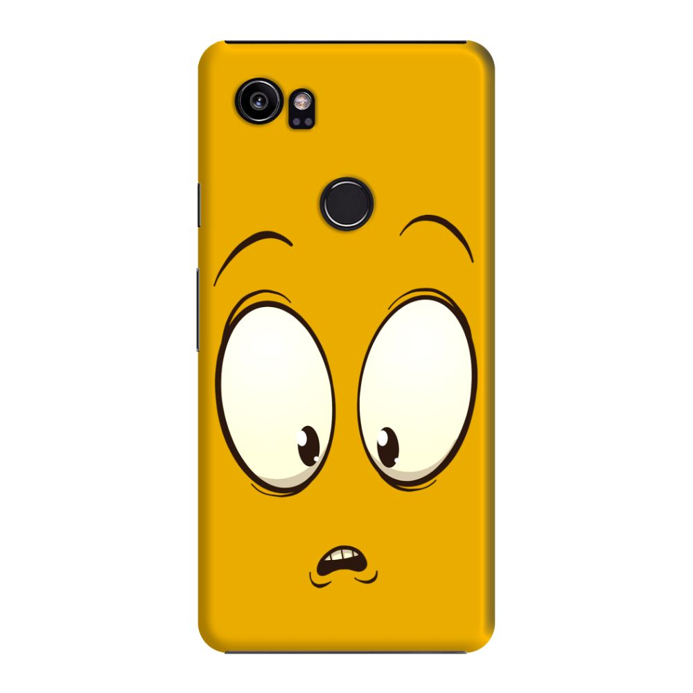 Confused Emoji Slim Case And Cover For Pixel 2 XL