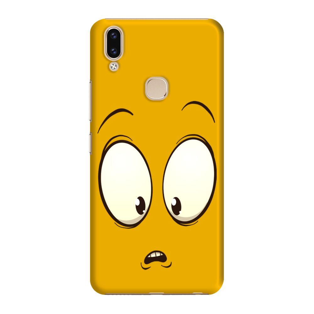 Confused Emoji Slim Case And Cover For Vivo V9