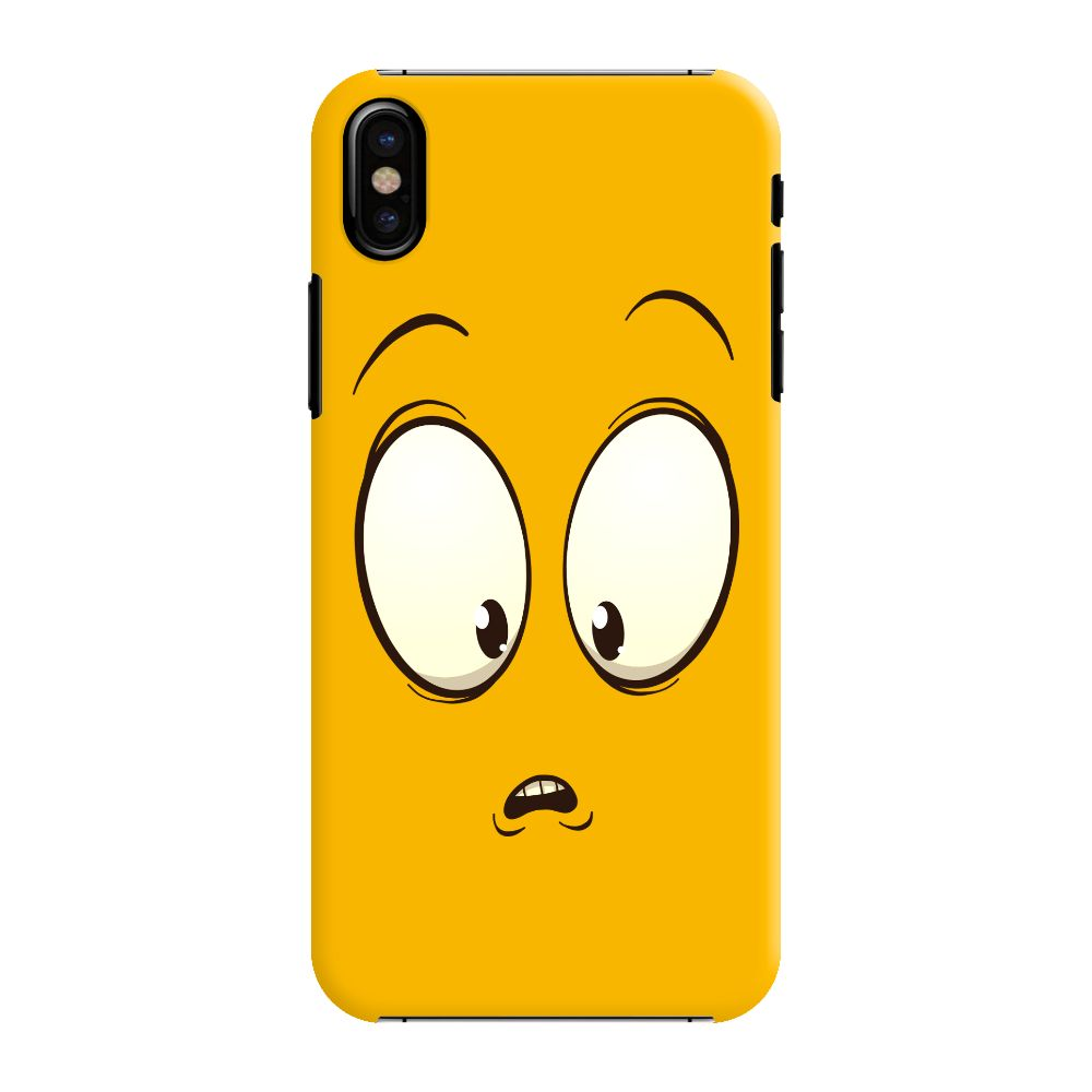 Confused Emoji Slim Case And Cover For iPhone XS