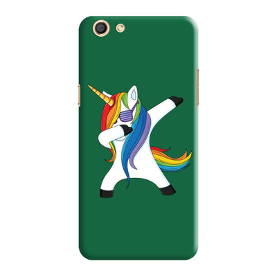 Dabbing Unicorn Slim Case And Cover For Oppo F3