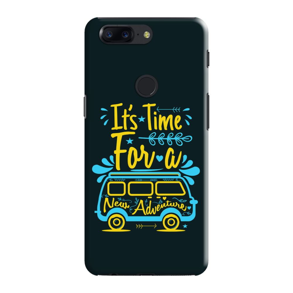 watch 848aa 47e41 New Adventure Slim Case And Cover For OnePlus 5T