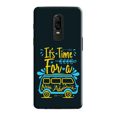 New Adventure Slim Case And Cover For OnePlus 6