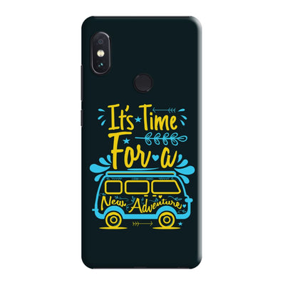 New Adventure Slim Case And Cover For Redmi Note 5 Pro