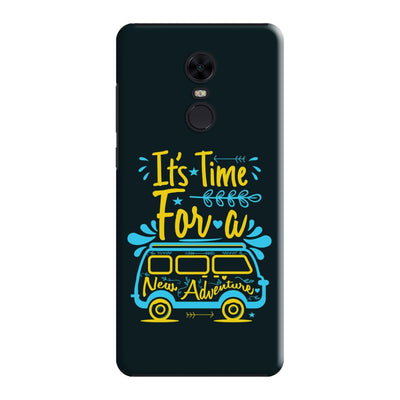 New Adventure Slim Case And Cover For Redmi Note 5