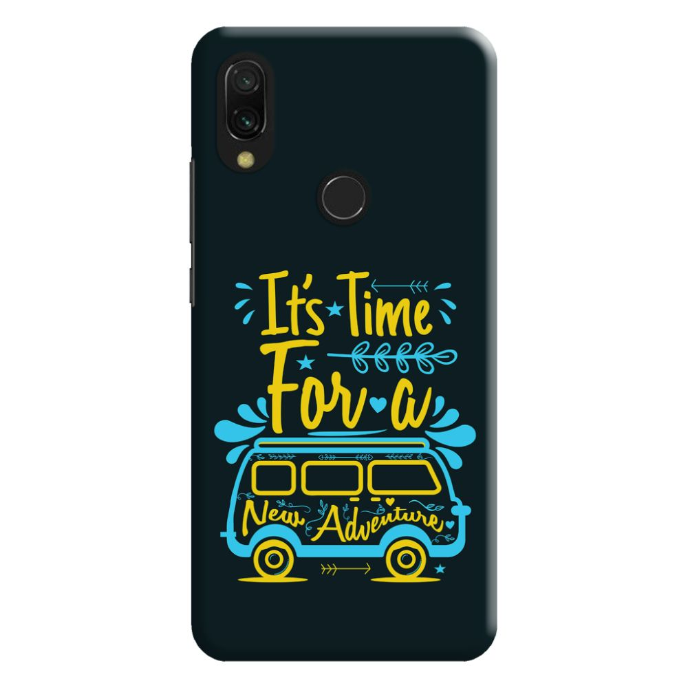 New Adventure Slim Case And Cover For Redmi Note 7
