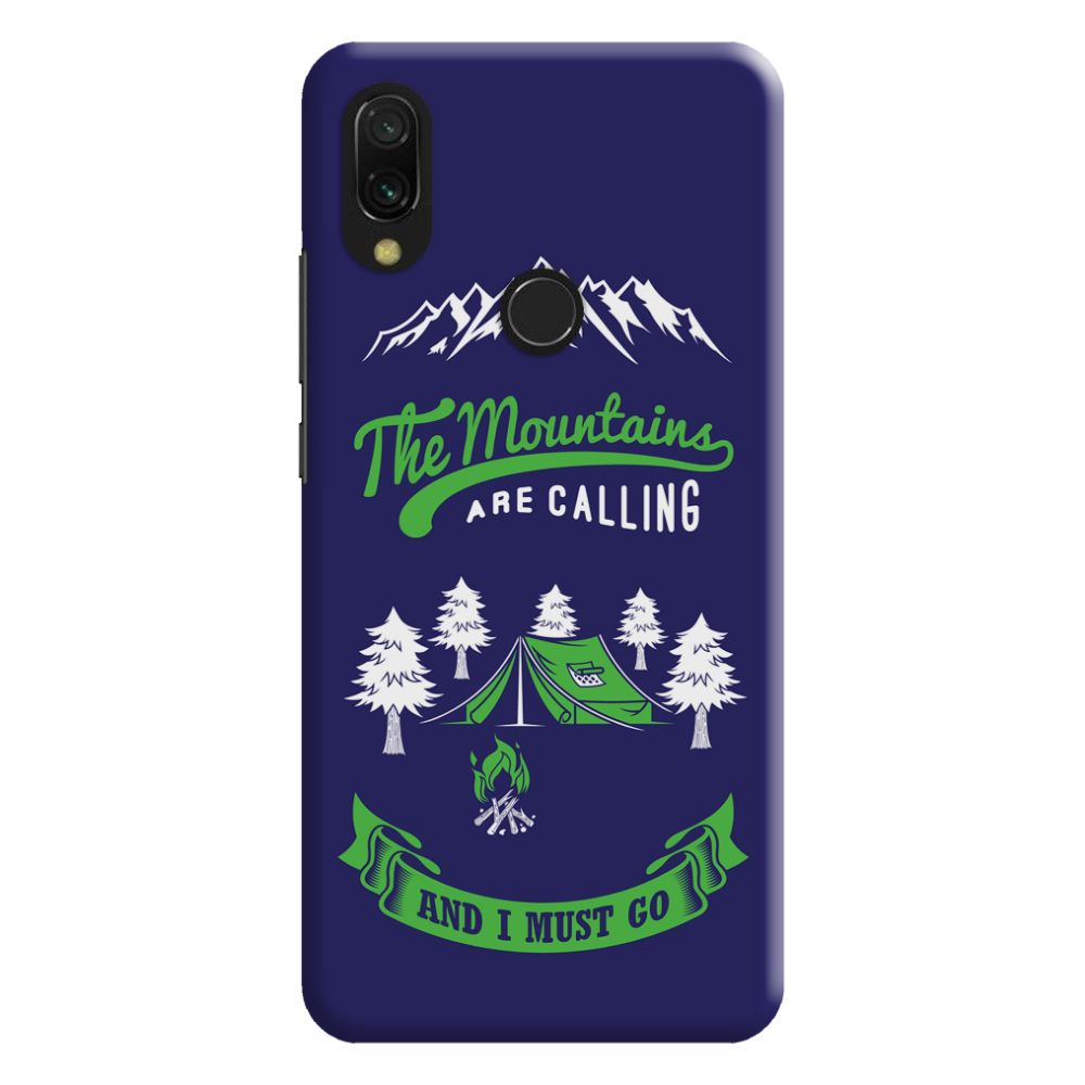 Call Of The Mountains Slim Case And Cover For Redmi Note 7