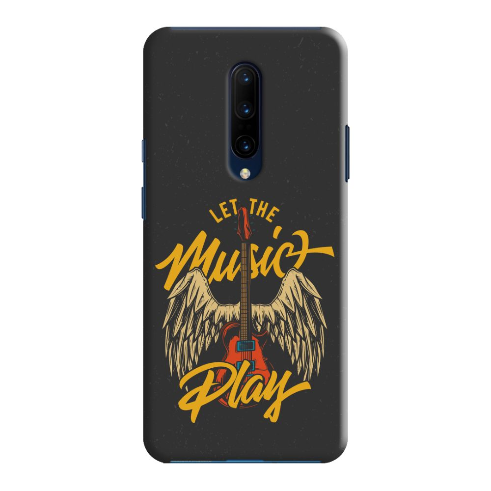 Let The Music Play Slim Case And Cover For OnePlus 7 Pro