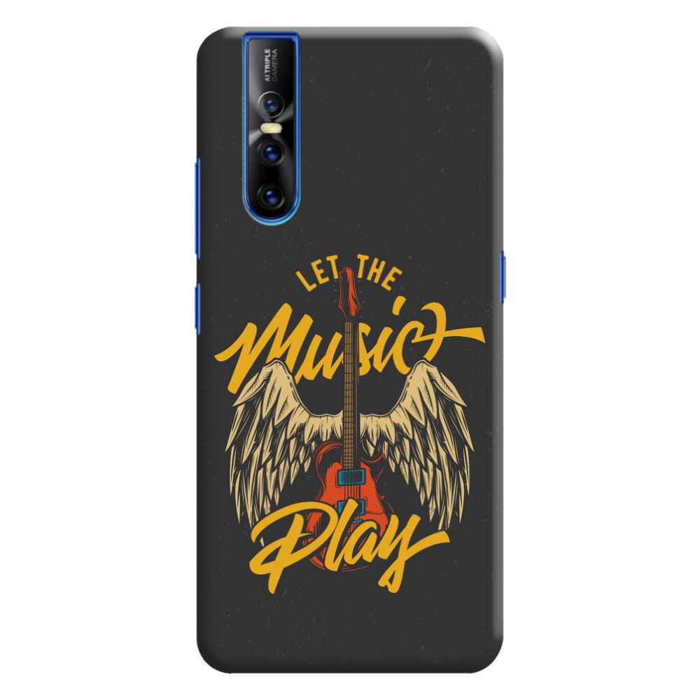 Let The Music Play Slim Case And Cover For Vivo V15 Pro