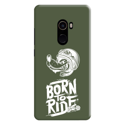 Born To Ride Slim Case And Cover For Mi Mix 2