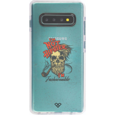 Fashionable Hipster Impact Case And Cover For Galaxy S10 Plus