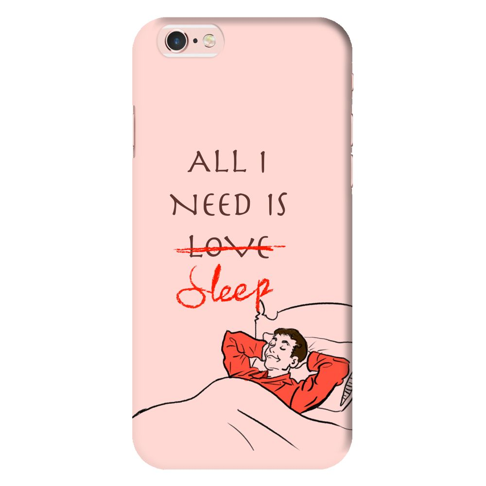 All I Need Is Sleep Slim Case And Cover For iPhone 6S