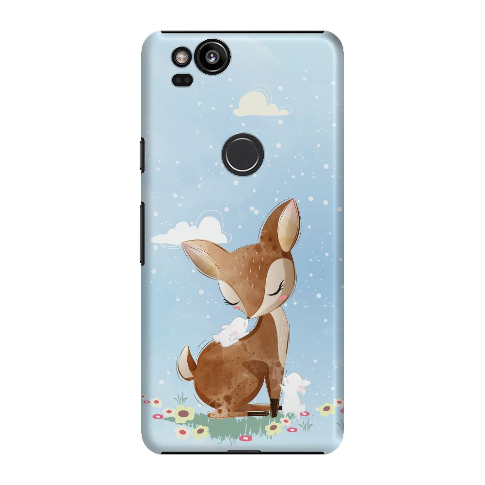 Dreamy Fawn Slim Case And Cover For Pixel 2