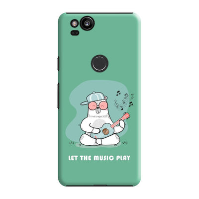 Musical Panda Slim Case And Cover For Pixel 2