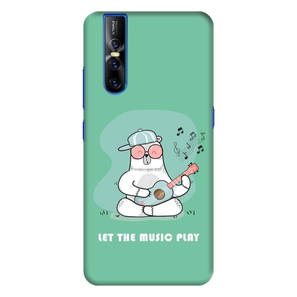 Musical Panda Slim Case And Cover For Vivo V15 Pro