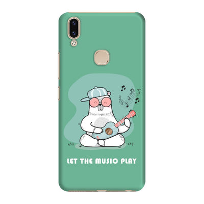 Musical Panda Slim Case And Cover For Vivo V9