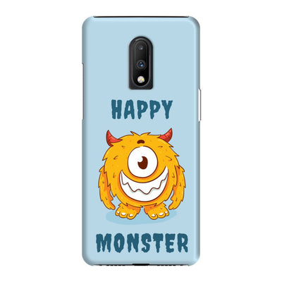 Grinning Monster Slim Case And Cover For OnePlus 7
