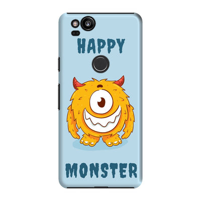 Grinning Monster Slim Case And Cover For Pixel 2