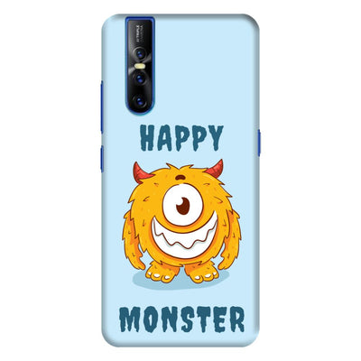 Grinning Monster Slim Case And Cover For Vivo V15 Pro