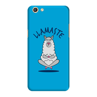 Namaste Llama Slim Case And Cover For Oppo F3
