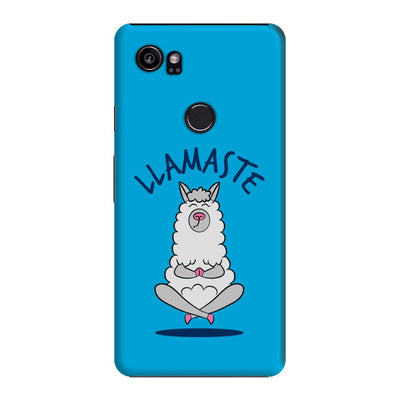 Namaste Llama Slim Case And Cover For Pixel 2 XL