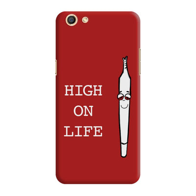 High On Life Slim Case And Cover For Oppo F3