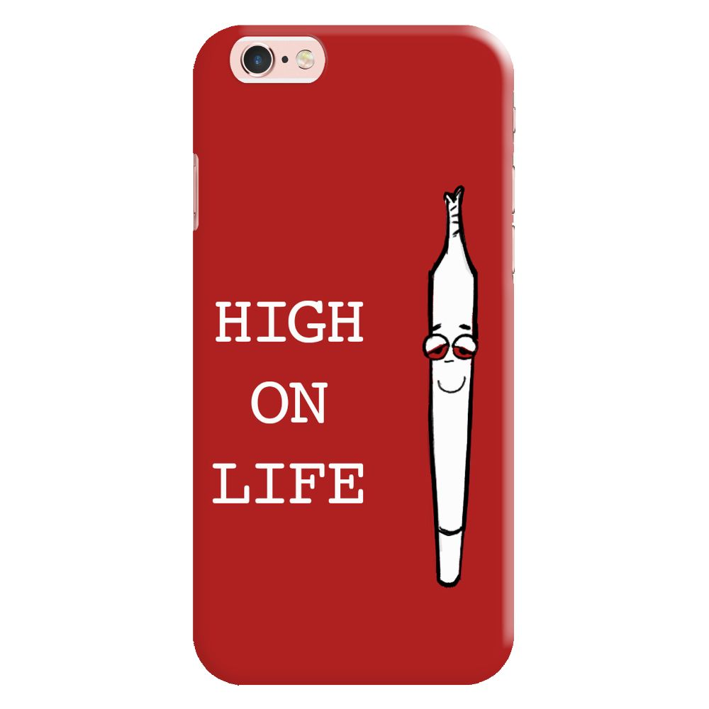 High On Life Slim Case And Cover For iPhone 6S