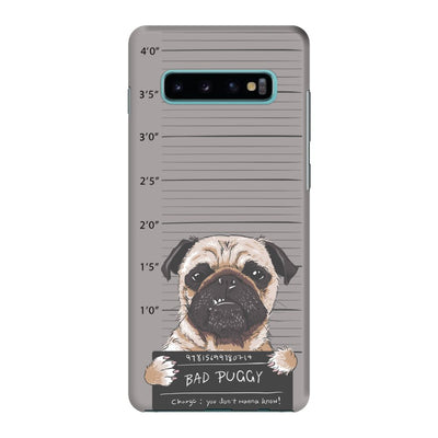 Bad Pug Slim Case And Cover For Galaxy S10 Plus