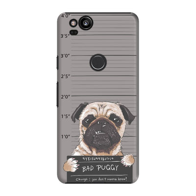 Bad Pug Slim Case And Cover For Pixel 2