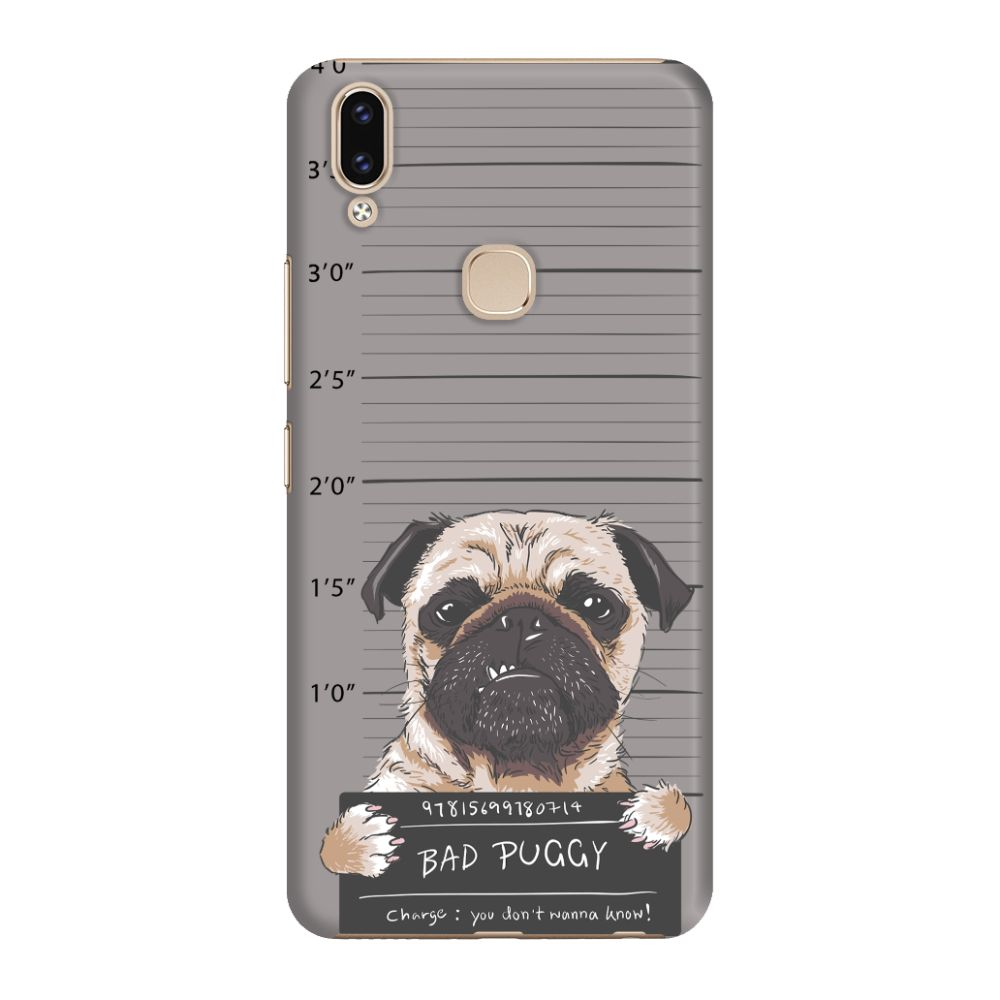 Bad Pug Slim Case And Cover For Vivo V9