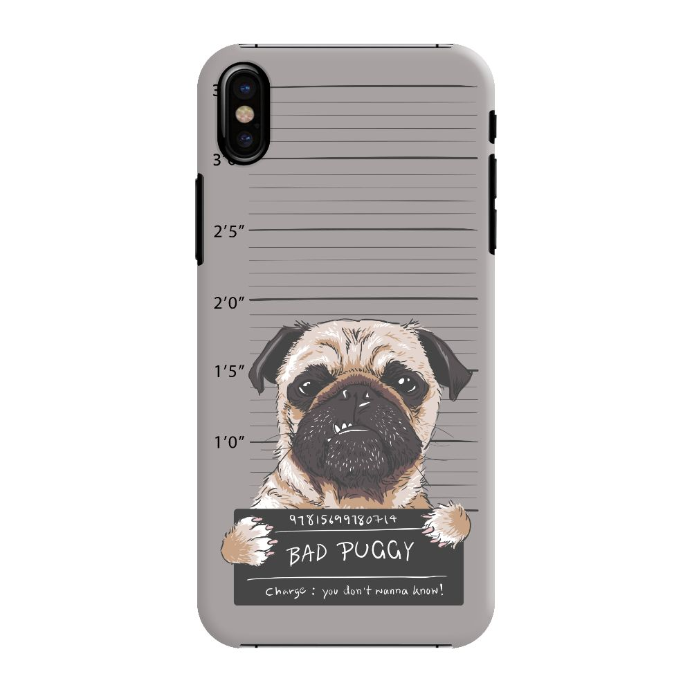 Bad Pug Slim Case And Cover For iPhone XS